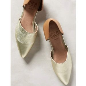 New Anthropologie Isabela pointed D'orsays, sz 8